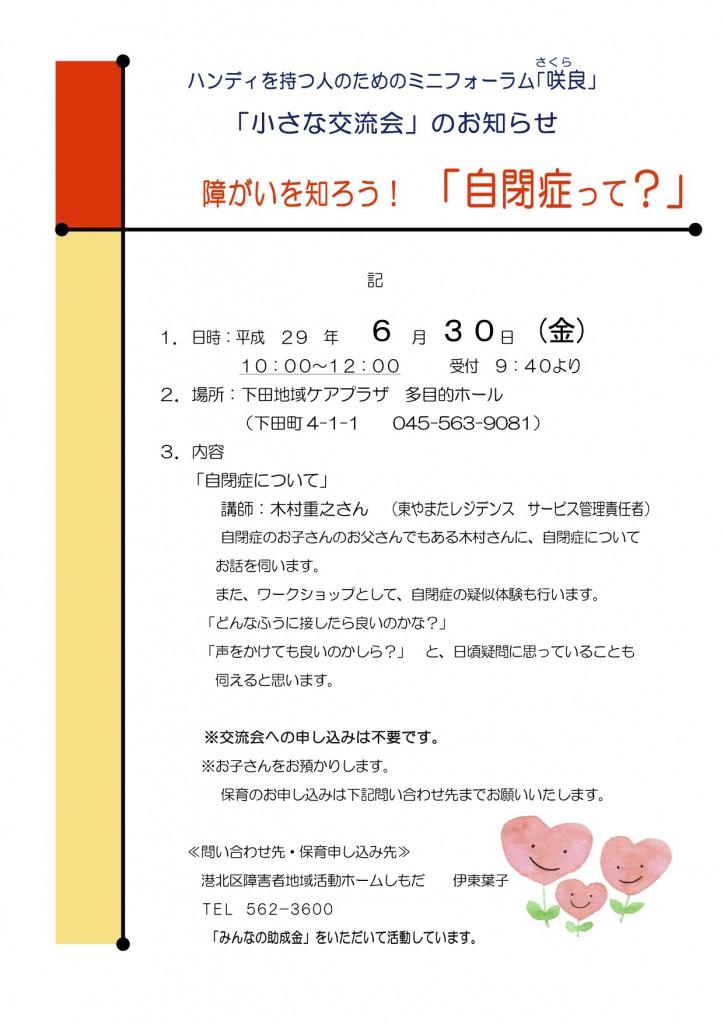 ☆咲良_第1回交流会H29.6.30